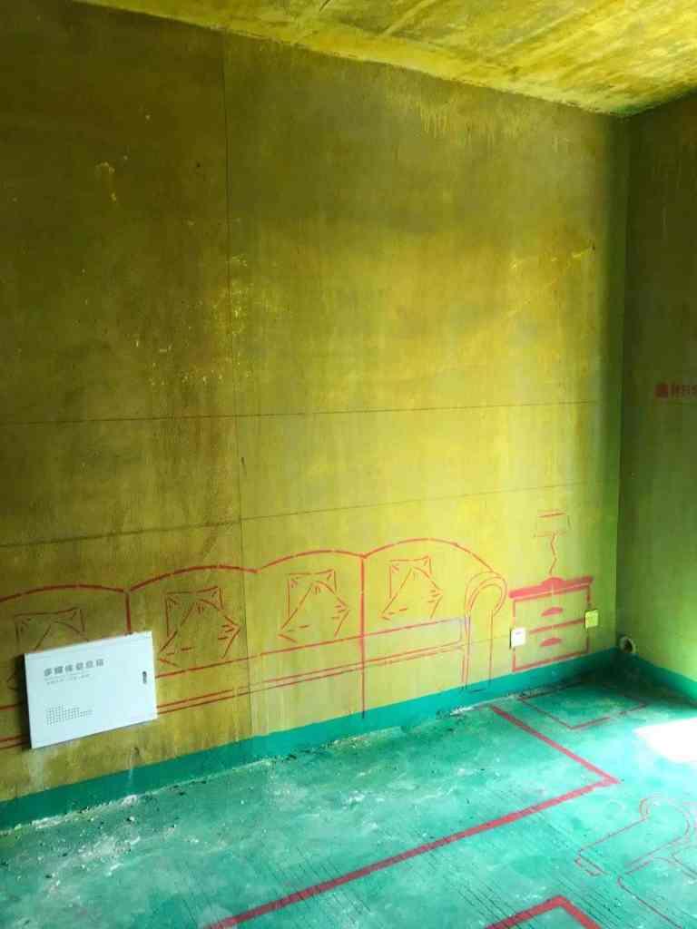 平湖秋月-黄墙绿地/3D全景放样-格润装饰