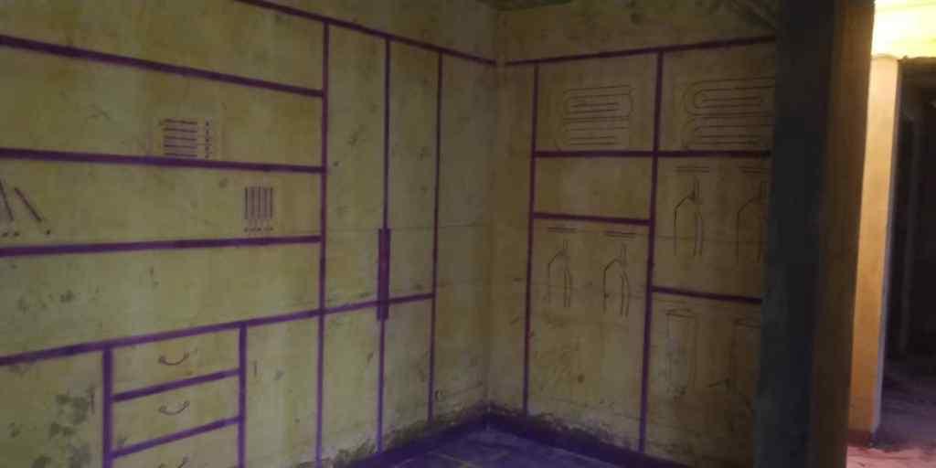 宝业城市绿苑西区-黄墙紫地/3D全景放样-山水装饰