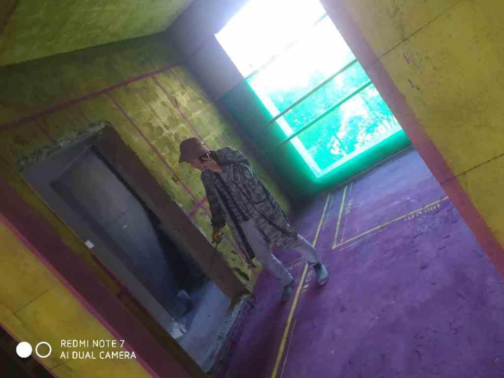 云谷金融-黄墙紫地/3D全景放样-山水装饰
