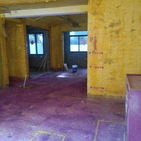 荷塘月色-黄墙紫地/全景放样-山水装饰