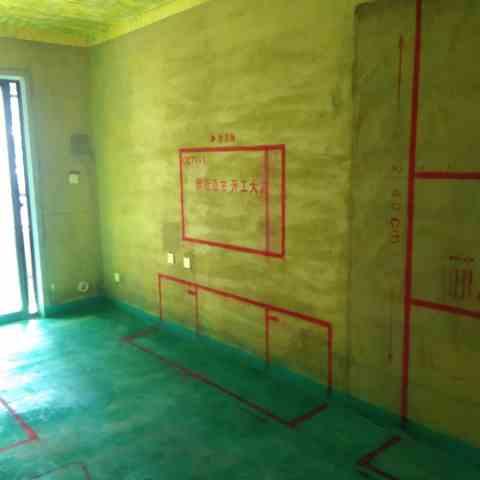 禹州朗溪上里-黄墙绿地/3D全景放样/成品保护-金艺堂装饰