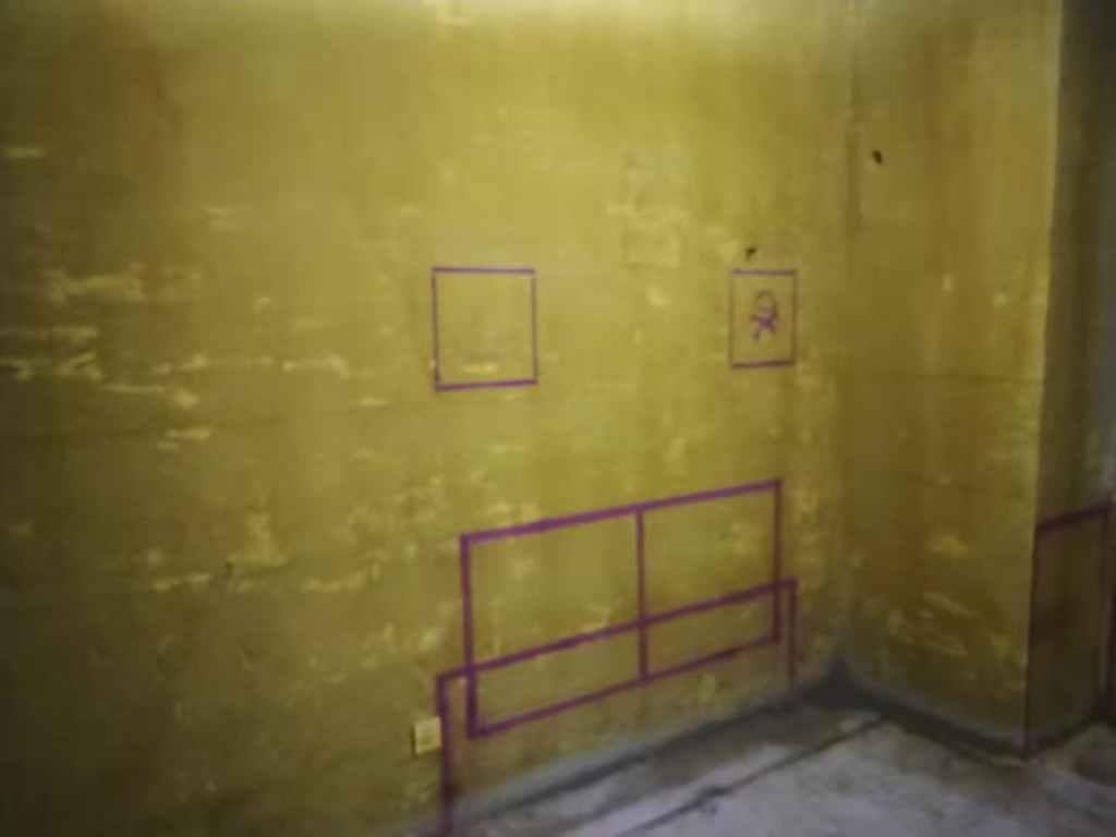 御景湾-黄墙紫地/3D全景放样-山水装饰