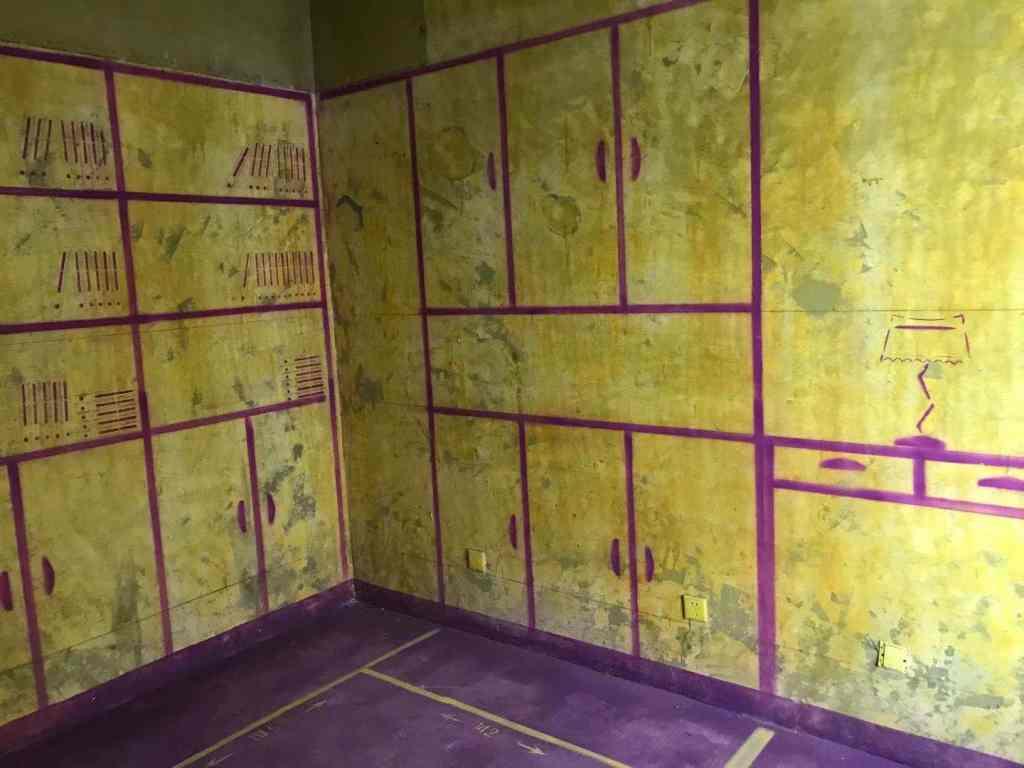 湖东景园北区-黄墙紫地/3D全景放样-山水装饰