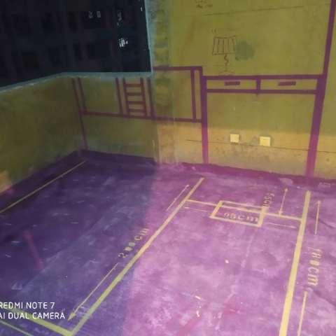 铂羽公馆-黄墙紫地/3D全景放样-山水装饰