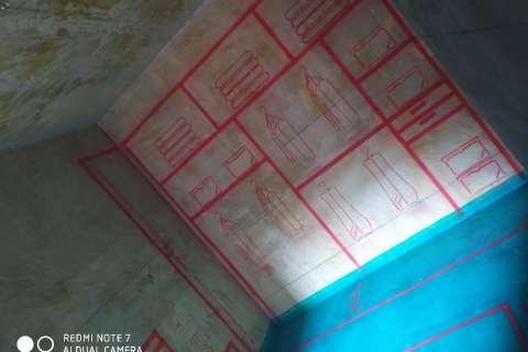 安粮城市广场-墙固地固/3D全景放样-大维装饰