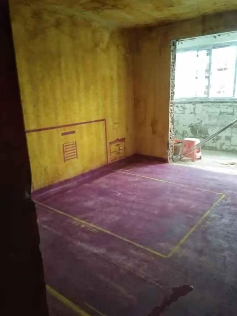 东升花园-黄墙紫地/3D全景放样-山水装饰