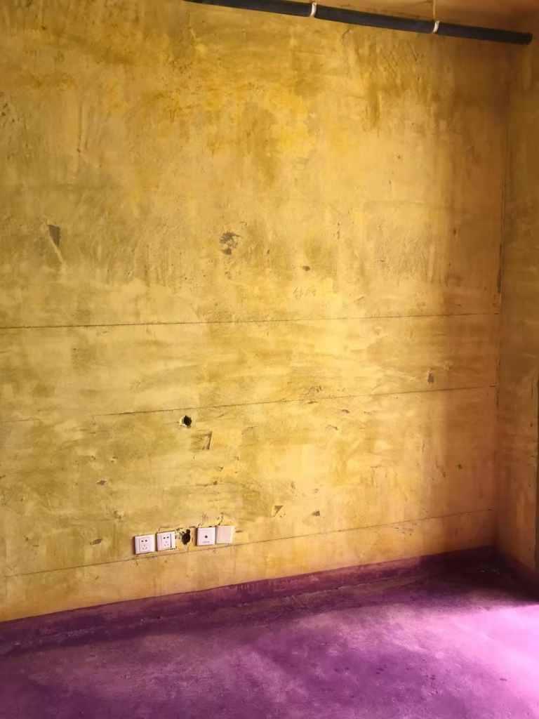 柏悦公馆-黄墙紫地/3D全景放样-山水装饰