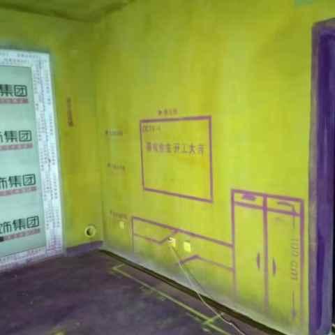 琥珀名郡三期-黄墙紫地/3D全景放样-山水装饰