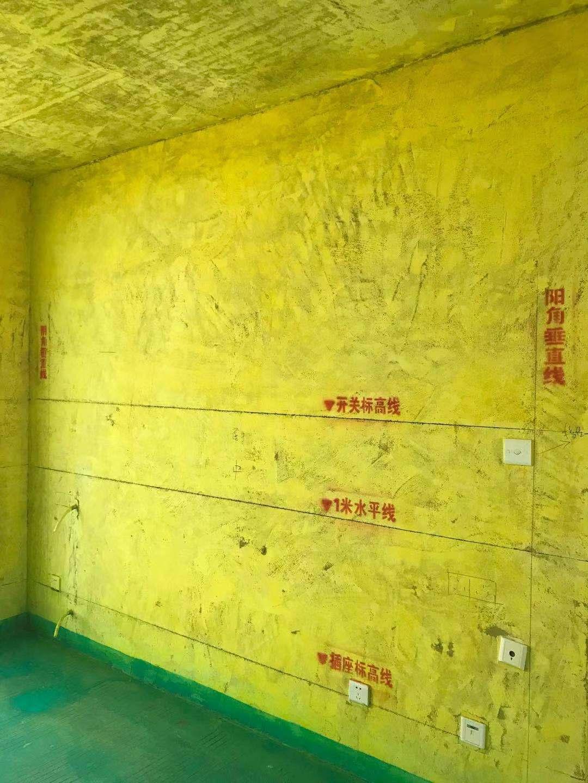 绿地中心公馆-黄墙绿地/成品保护-飞墨设计