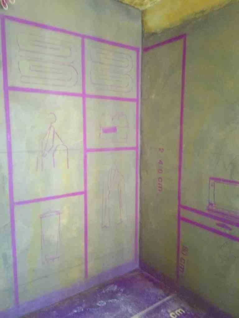 巴黎都市三期-黄墙紫地/3D全景放样-山水装饰