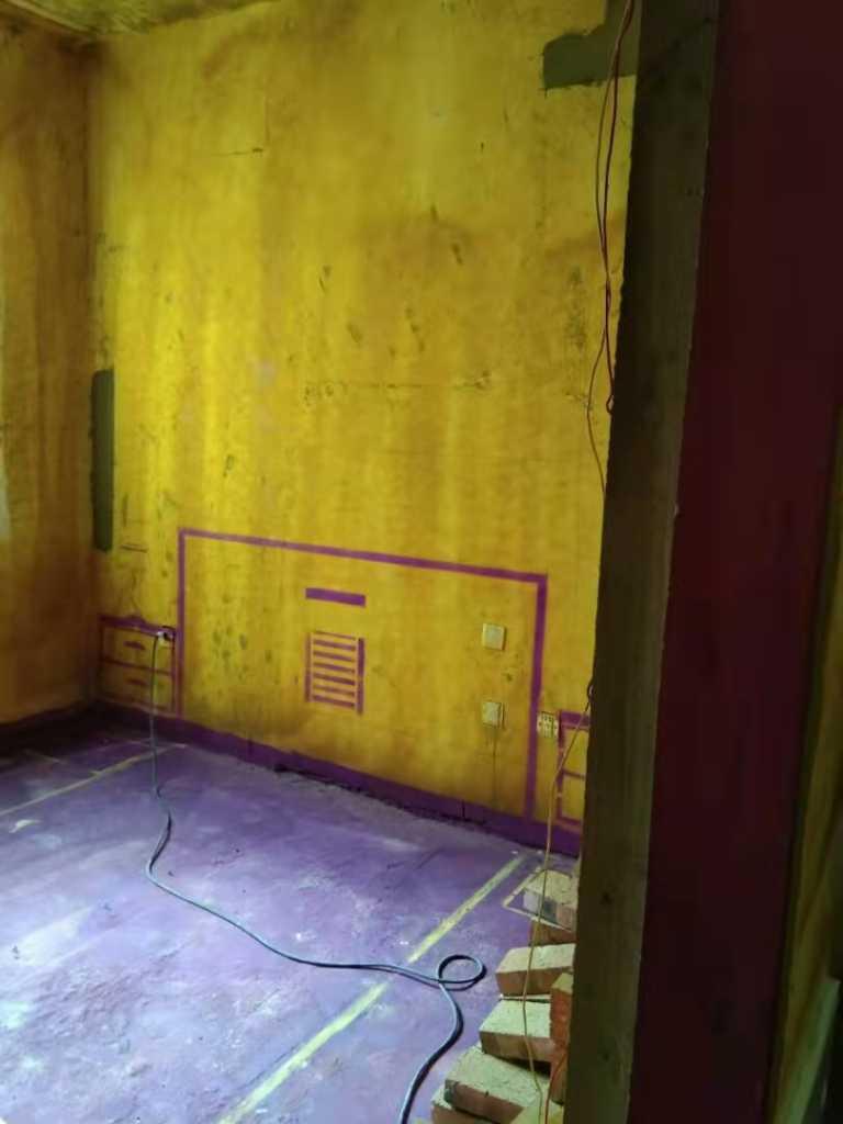 世茂国风-黄墙紫地/3D全景放样-山水装饰