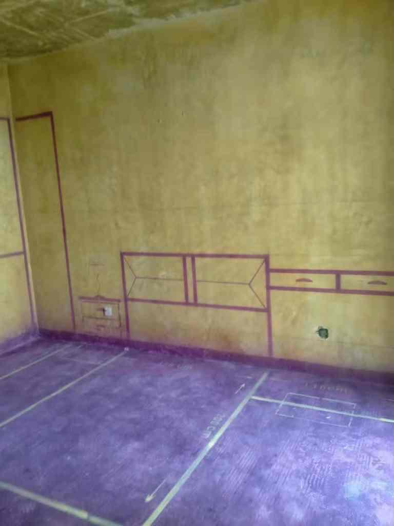 藏龙阁-黄墙紫地/3D全景放样-山水装饰