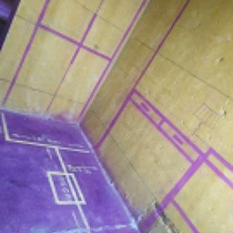 宝能城-黄墙紫地/3D全景放样-山水装饰