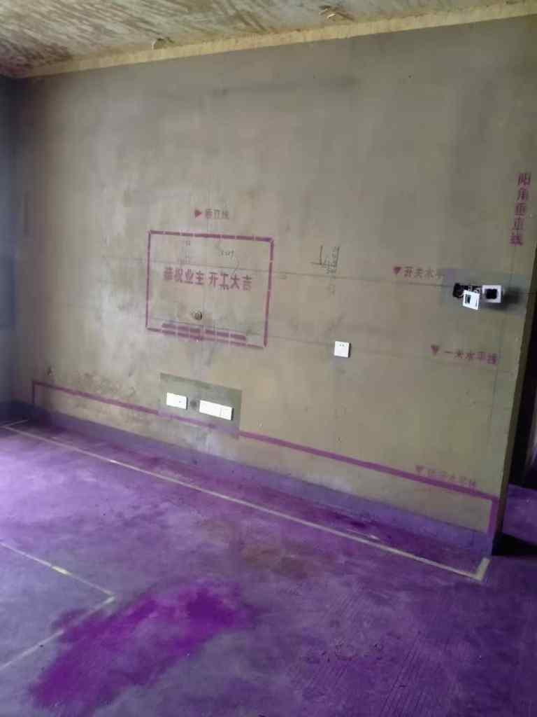 蓝光林肯公园-黄墙紫地/3D全景放样-山水装饰
