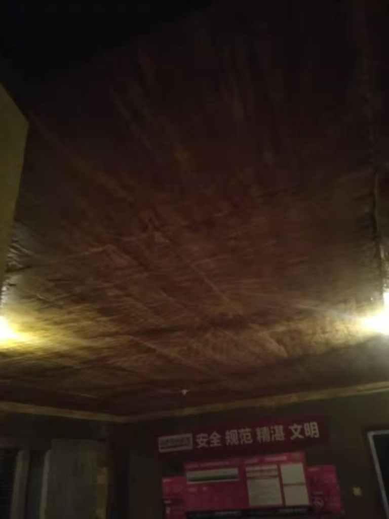 吾悦华府-黄墙紫地/3D全景放样-山水装饰