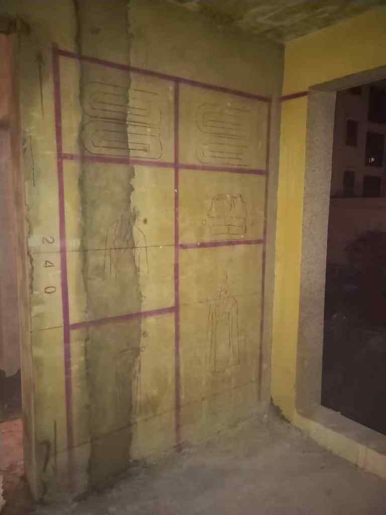 文德艺墅-黄墙紫地/3D全景放样-山水装饰