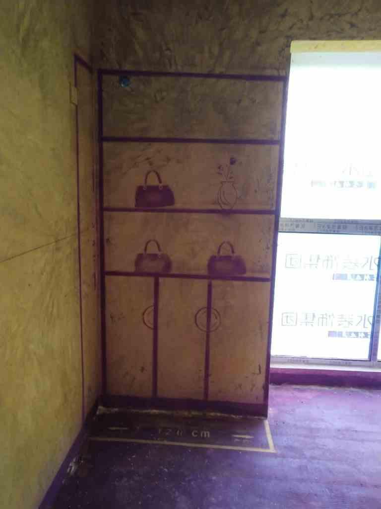 信达西山银杏-黄墙紫地/3D全景放样-山水装饰