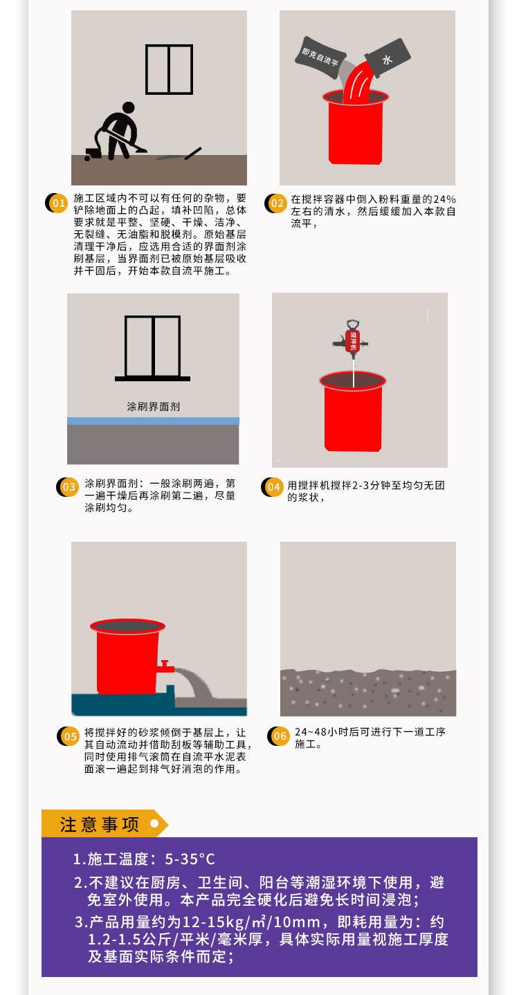 【即克®】自流平水泥