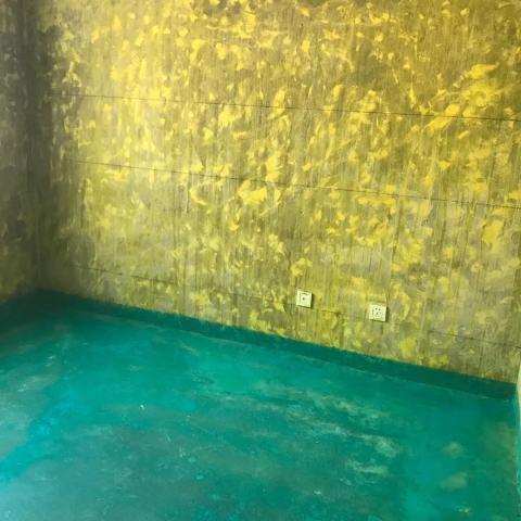 滨湖阳光里-黄墙绿地-飞墨设计