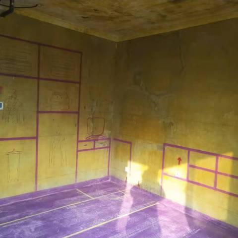 安粮云水居-黄墙紫地/3D全景放样-山水装饰