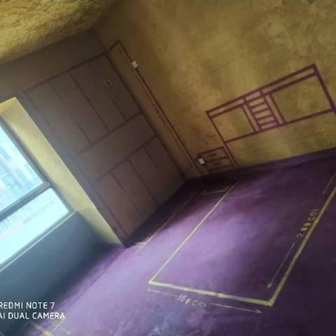 御景城-黄墙紫地/3D全景放样-山水装饰