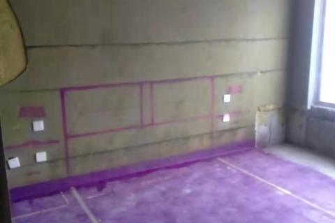中海央墅-黄墙紫地3D全景放样-山水装饰