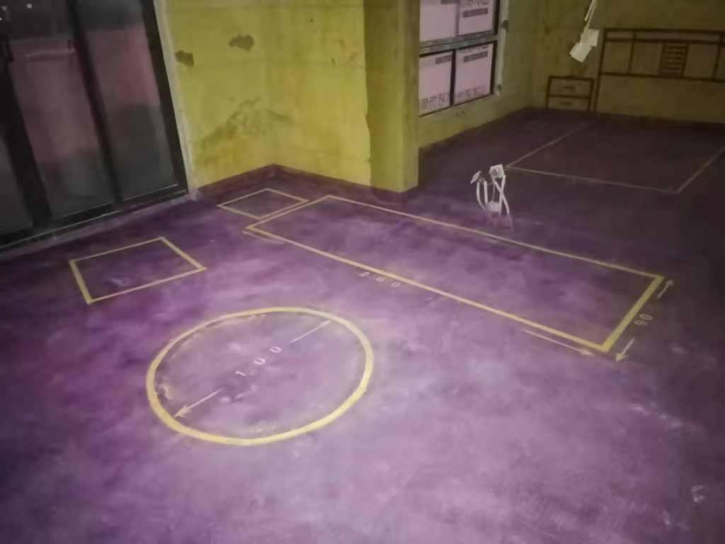 天下锦城爱丁堡-黄墙紫地/3D全景放样-山水装饰