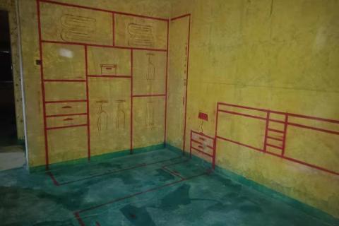 财政厅宿舍-黄墙绿地/3D全景放样-金艺堂装饰