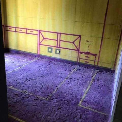 庐州府澜园-黄墙紫地/3D全景放样-山水装饰
