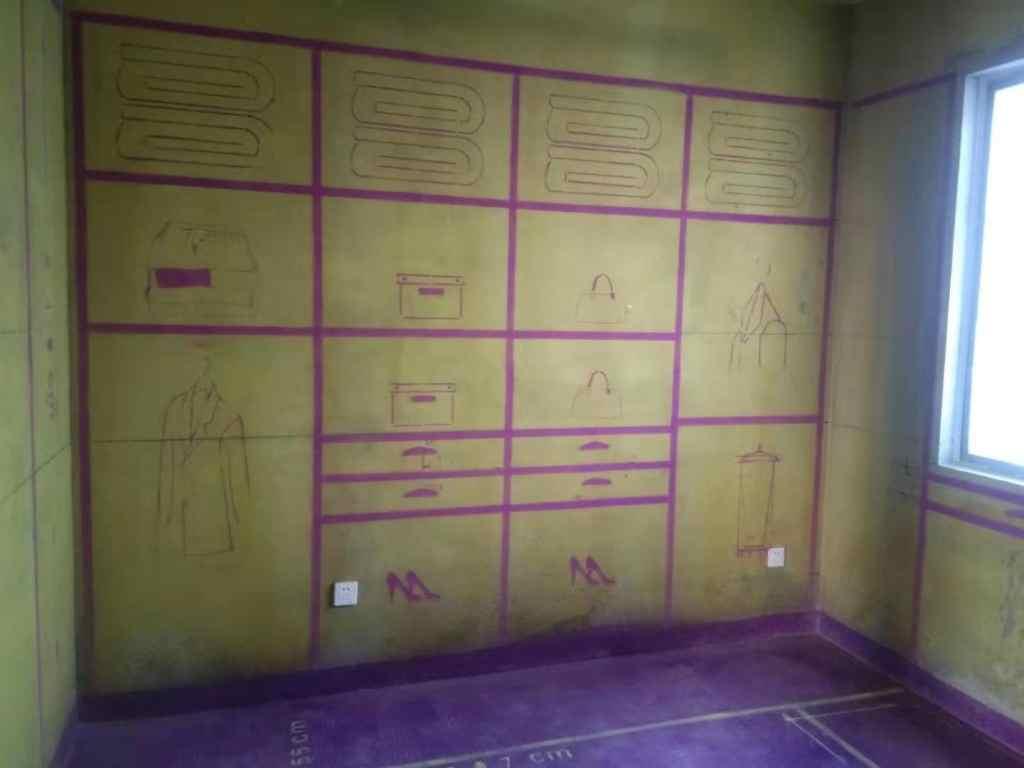 溪岸观邸-黄墙紫地/3D全景放样-山水装饰