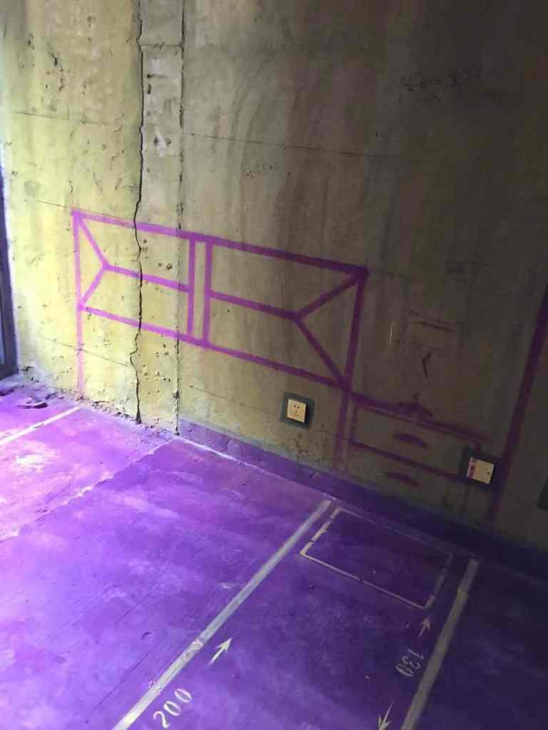 蜀山里-黄墙紫地/3D全景放样-山水装饰