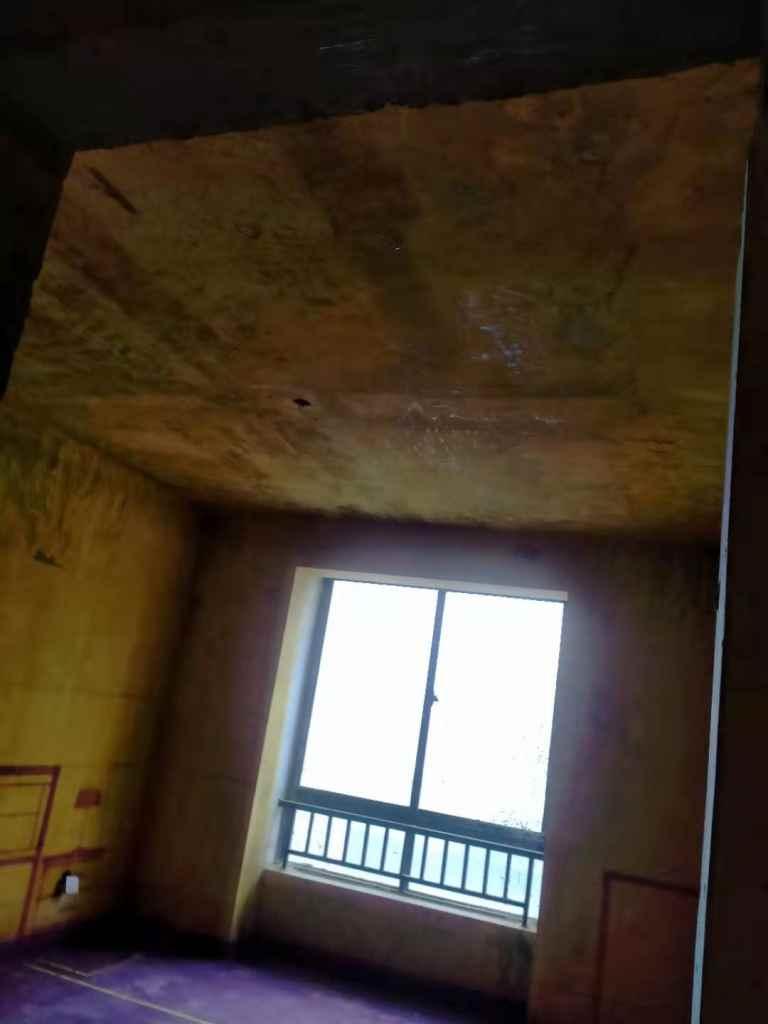 中兴西湖花园-黄墙紫地/3D全景放样-山水装饰