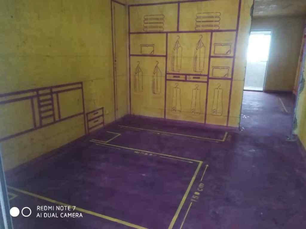 榆林桥畔-黄墙紫地/3D全景放样-山水装饰