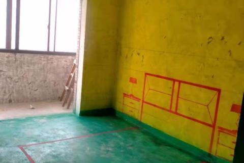 包河苑F区-黄墙绿地/3D全景放样/成品保护-金艺堂装饰
