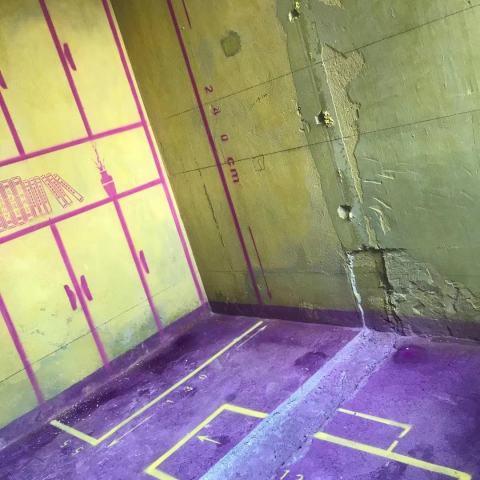 滨湖阳光里-黄墙紫地/3D全景放样-山水装饰