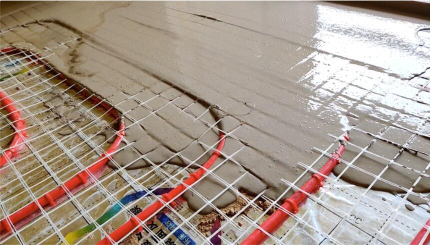 厚层自流平在建筑行业中的优势,地暖回填找平都在用