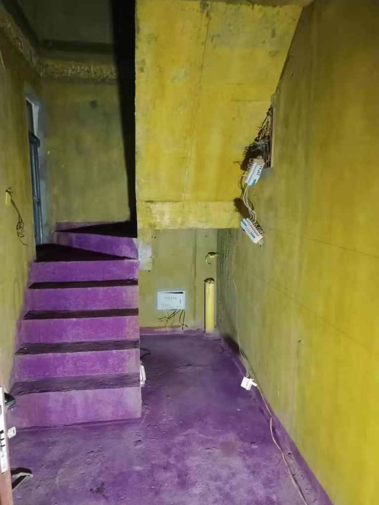 维也纳-黄墙紫地/3D全景放样-山水装饰