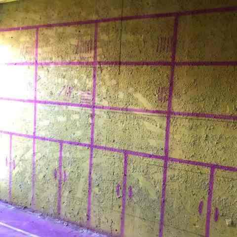 山湖苑东区-黄墙紫地/3D全景放样-山水装饰