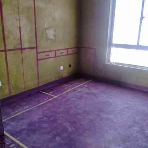 瑞安家园-黄墙紫地/3D全景放样-山水装饰