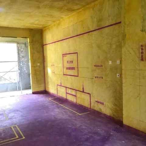 乔治庄园-黄墙紫地/3D全景放样-山水装饰