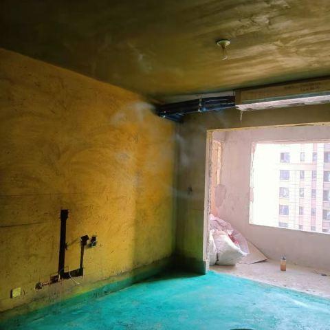 华南城紫荆名都-黄墙绿地/窗户保护-千一装饰