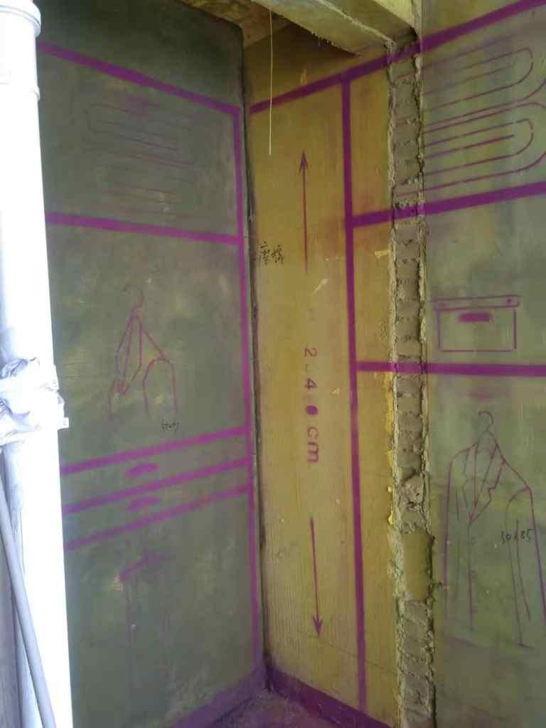 新城云樾观棠-黄墙紫地/3D全景放样-山水装饰