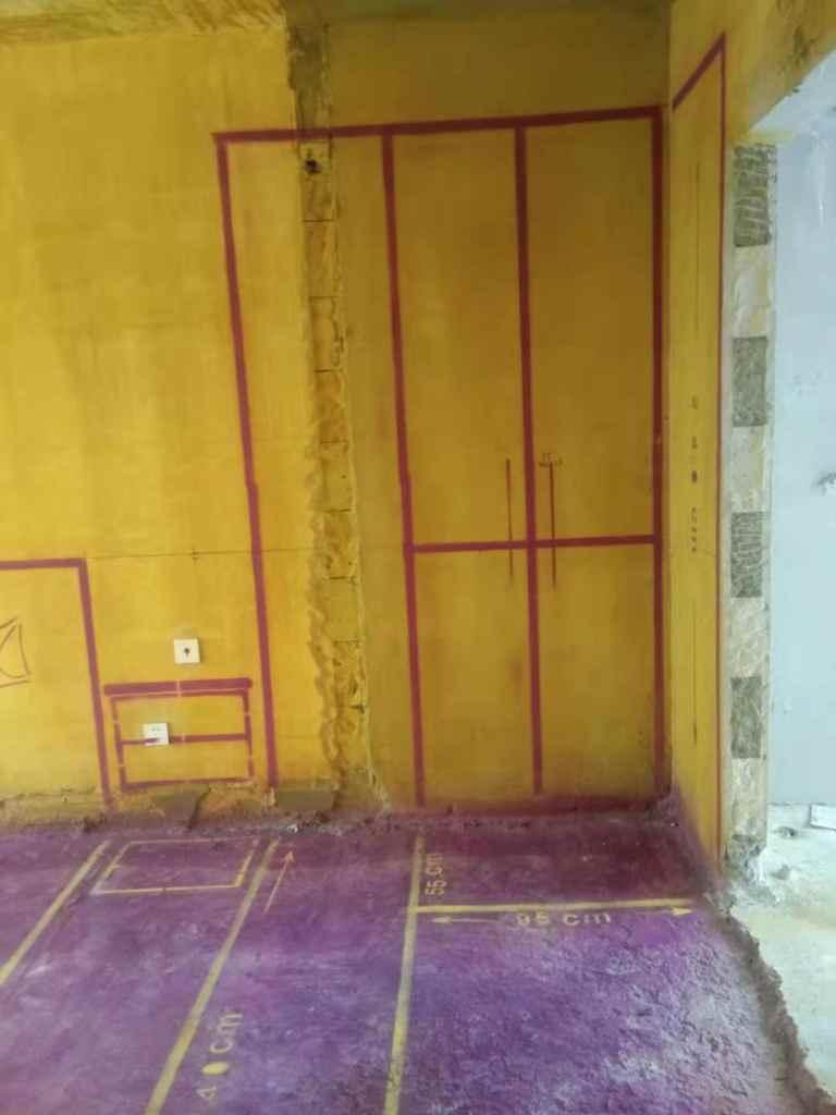 万科未来之光-黄墙紫地/3D全景放样-山水装饰