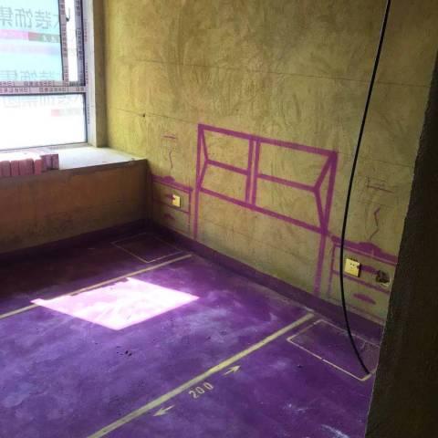 和睦公馆-黄墙紫地/3D全景放样-山水装饰