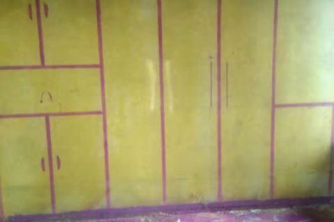 东华府-黄墙紫地/3D全景放样-山水装饰