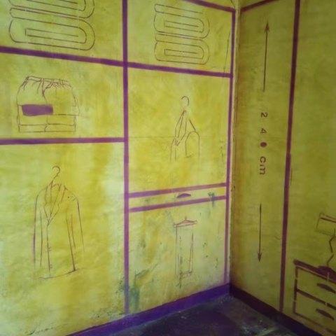 金茂湾6-1304-黄墙紫地/3D全景放样-山水装饰