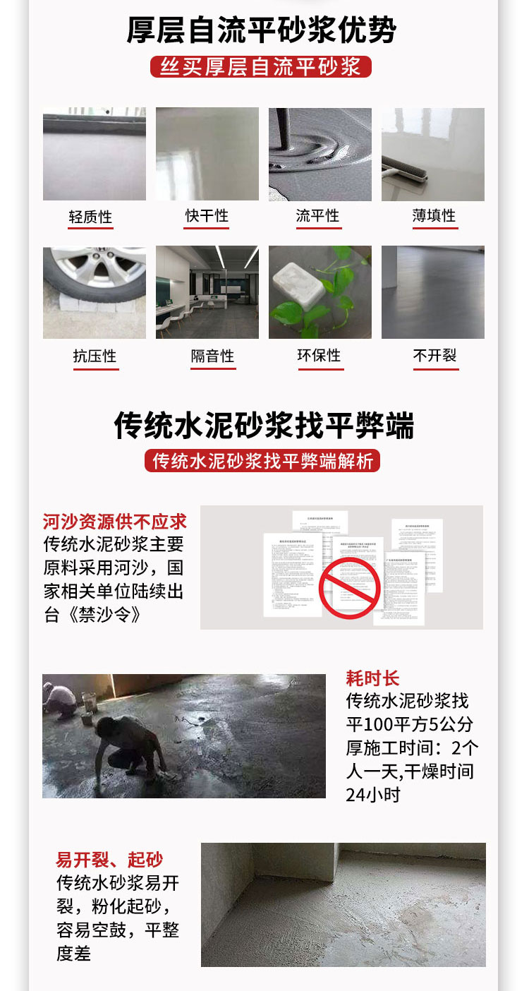 石膏基自流平砂浆厂家-施工+产品技术指导-安徽石膏自流平砂浆生产厂家