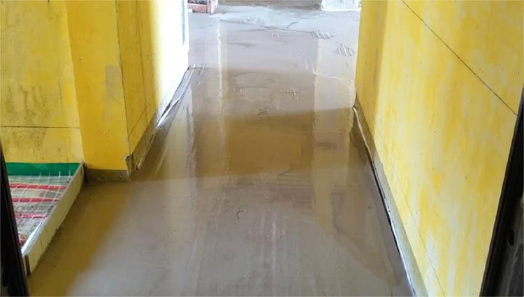 芜湖地面找平地暖回填砂浆 找平材料 高流动性地面工程基层找平砂浆
