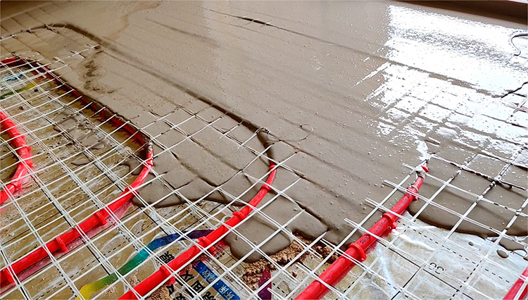 湖州地面找平地暖回填砂浆 高流动性高保 地面工程基层找平砂浆