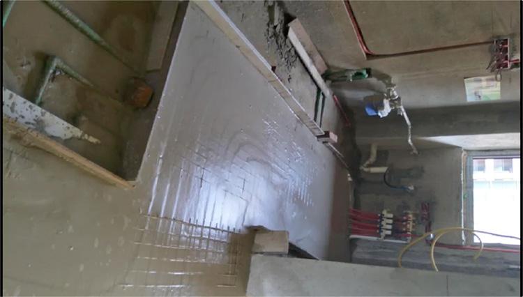 浙江丝买石膏基自流平 台州地暖回填找平砂浆 高流动性高保地面工程基层找平砂浆
